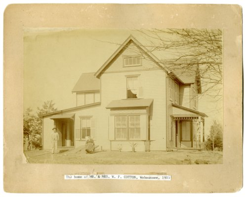 W. F. Cotton residence in Wabaunsee, Kansas - Page