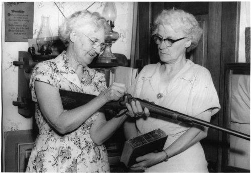 Maude Mitchell and Josephine Willig, Wabaunsee, Kansas - Page