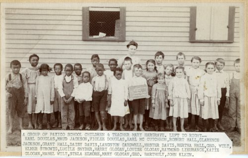 Students in Paxico, Kansas - Page