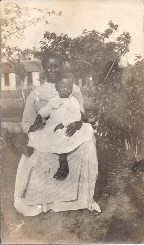 Frances Johnson Gayden and Virginia Gayden in Dunlap, Kansas - Page