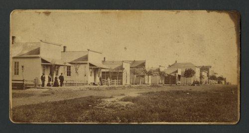 Street scene in Howard, Kansas - Page