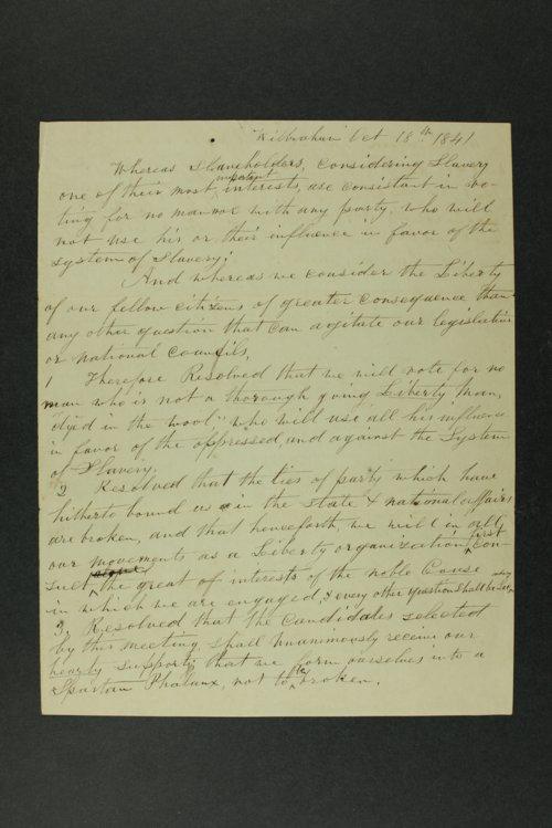 Liberty Association of Wilbraham, Massachusetts - Page