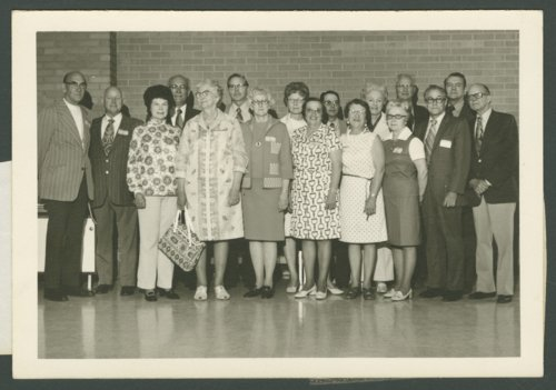 50th reunion of the 1933 McPherson College graduating class in McPherson, Kansas - Page