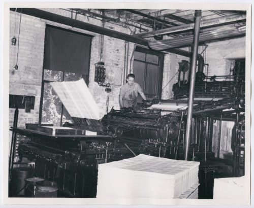 Haldeman-Julius print shop in Girard, Kansas - Page