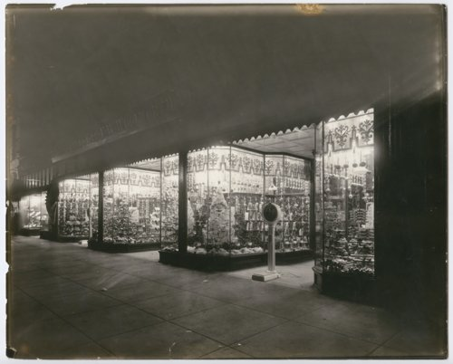 Christmas decorations at the F. W. Woolworth Company store in Topeka, Kansas - Page