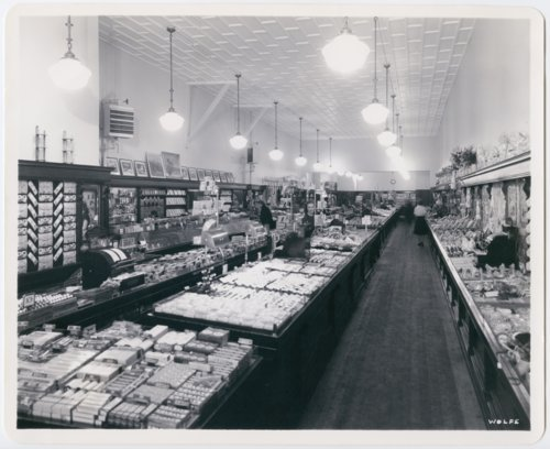 Interior view of the F. W. Woolworth Company store in Topeka, Kansas - Page