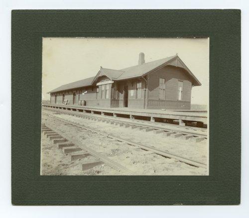Railroad station at Anadarko, Oklahoma - Page