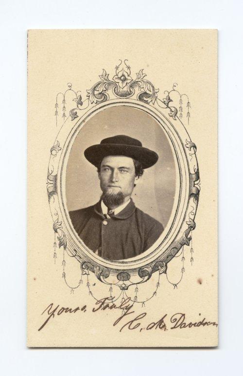Corwin M. Davidson - Page