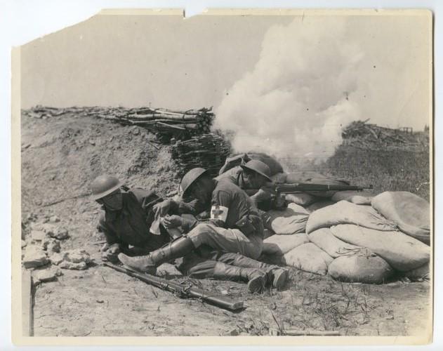 353rd Infantry at Camp Funston, Kansas - Page