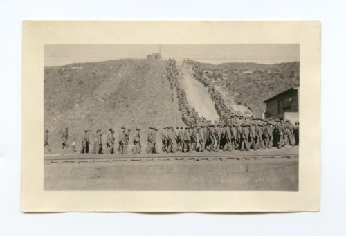 Training at Camp Funston - Page
