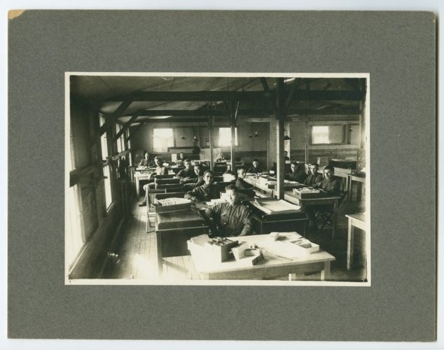 89th Division personnel office, Camp Funston - Page