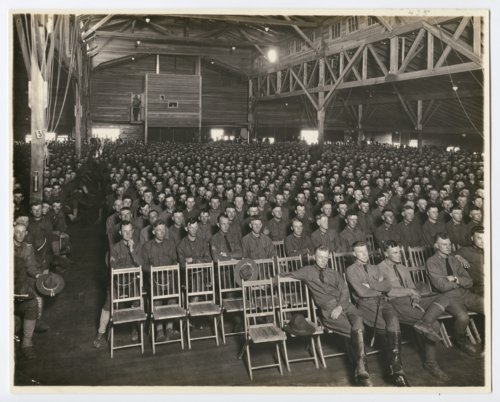 Y.M.C.A. auditorium at Camp Funston, Kansas - Page