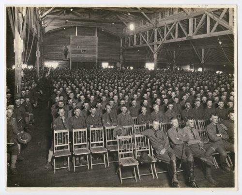 Y.M.C.A. auditorium at Camp Funston, Kansas - Page
