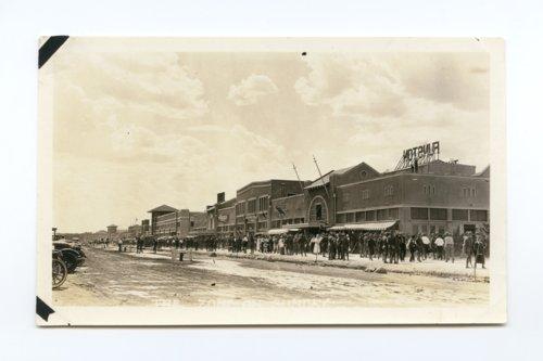 Street scene in Army City, Kansas - Page