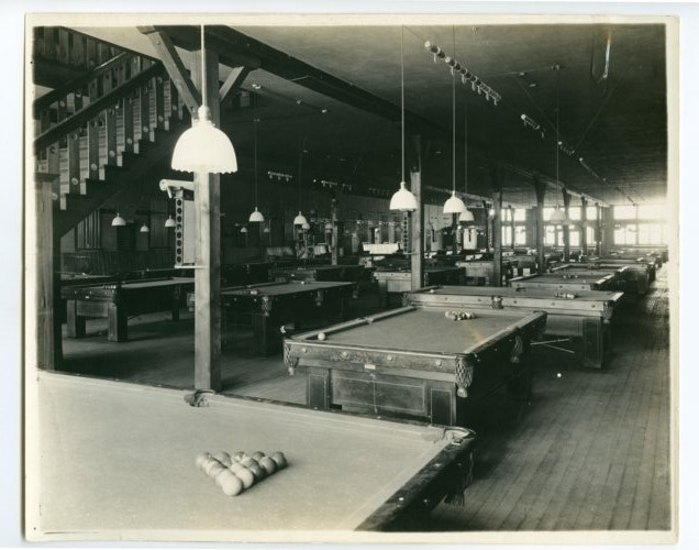 Pool hall in Army City, Kansas - Page
