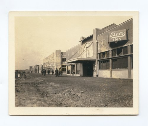 Street scene of Army City, Kansas - Page