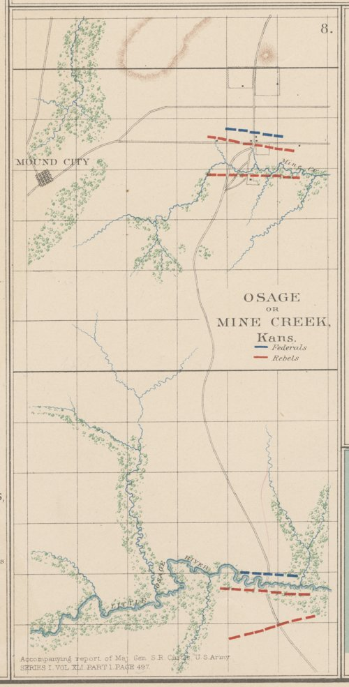 Osage or Mine Creek, Kansas - Page