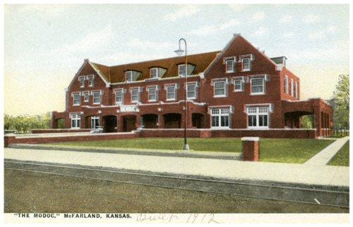 Modoc Hotel in McFarland, Kansas - Page