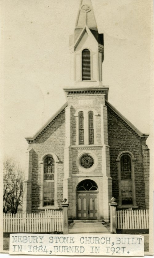 Catholic Church in Newbury, Kansas - Page