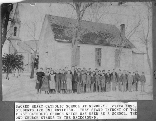 Sacred Heart School in Newbury, Kansas - Page