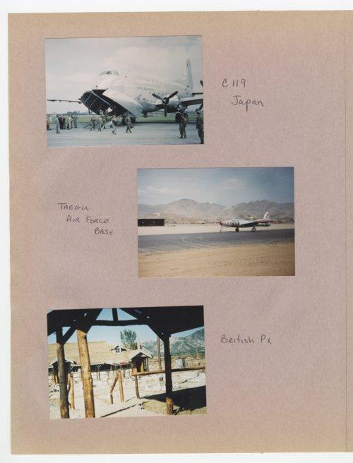 William Thomas West's Korean War photograph album - Page