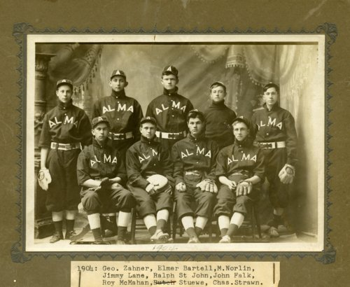 Baseball team in Alma, Kansas - Page