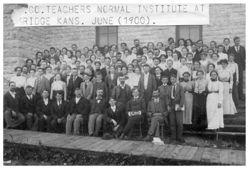 Wabaunsee County Teachers Normal Institute in Eskridge, Kansas - Page