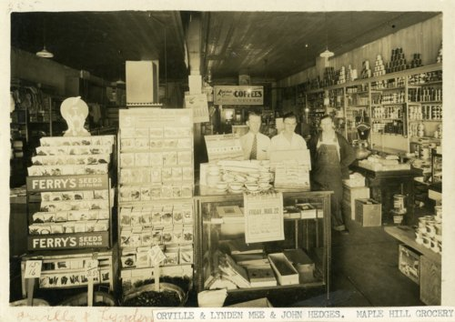 Interior view of Maple Hill Grocery in Maple Hill, Kansas - Page