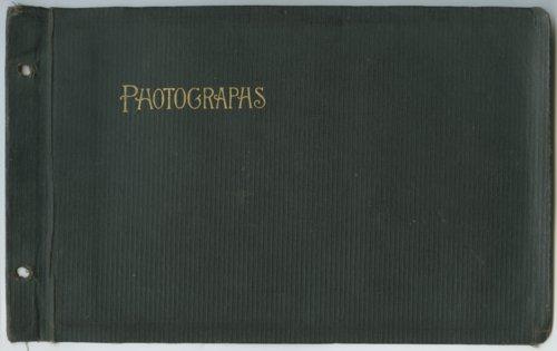 Lester Arnold World War I scrapbook - Page