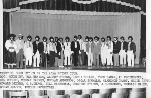 Rotary Club minstrel show in Alma, Kansas - Page