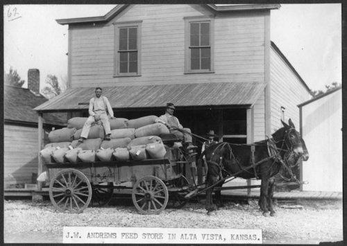 J. W. Andrews Feed Store, Alta Vista, Kansas - Page