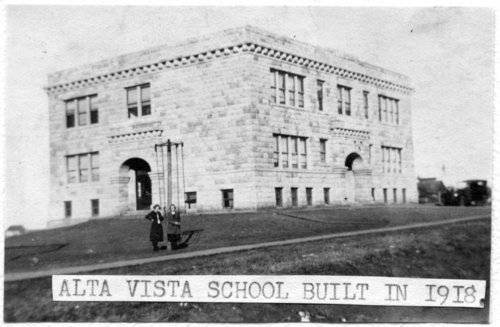 School in Alta Vista, Kansas - Page