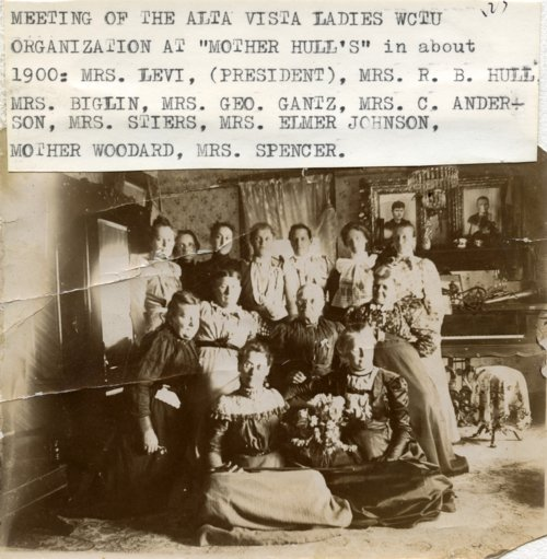 Woman's Christian Temperance Union meeting in Alta Vista, Kansas - Page