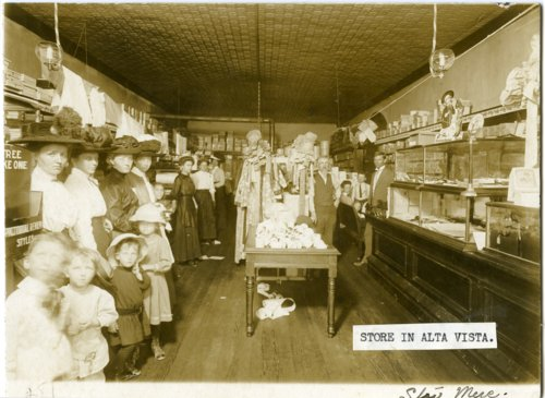 Interior views of Star Mercantile in Alta Vista, Kansas - Page