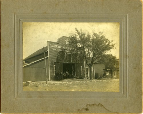 Livery and Feed Store, Alta Vista, Kansas - Page