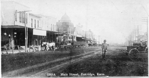 Main Street in Eskridge, Kansas - Page
