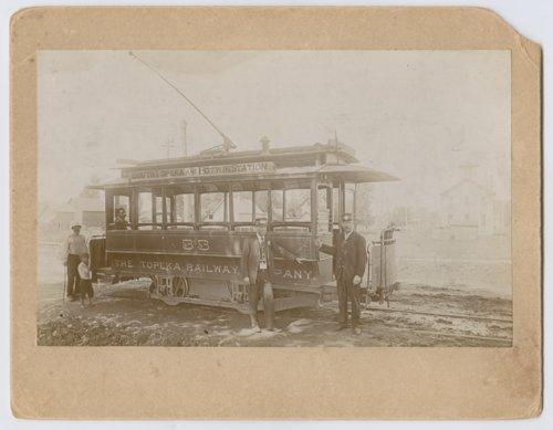 South Topeka and Potwin Station street car #33 in Topeka, Kansas - Page
