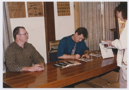 Book signing at Fort Scott, Kansas - Page