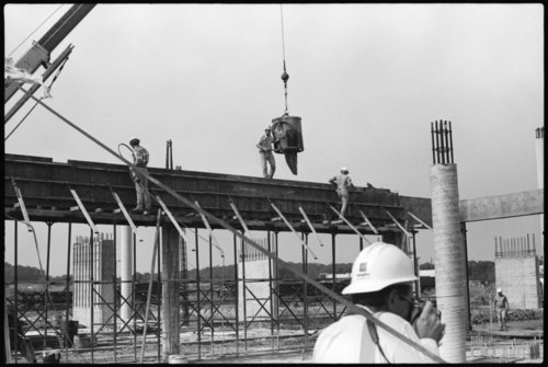 Construction at the museum site, Topeka, Kansas - Page