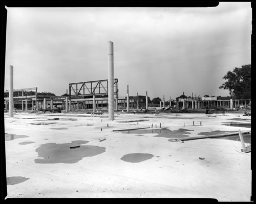 Museum construction scene, Topeka, Kansas - Page