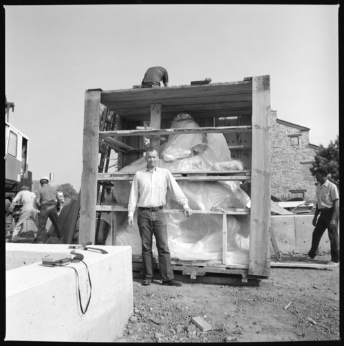 Museum construction scenes, Topeka, Kansas - Page