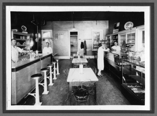 Soda shop in Alma, Kansas - Page
