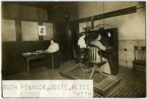 Telephone switchboard operators in Alma, Kansas - Page