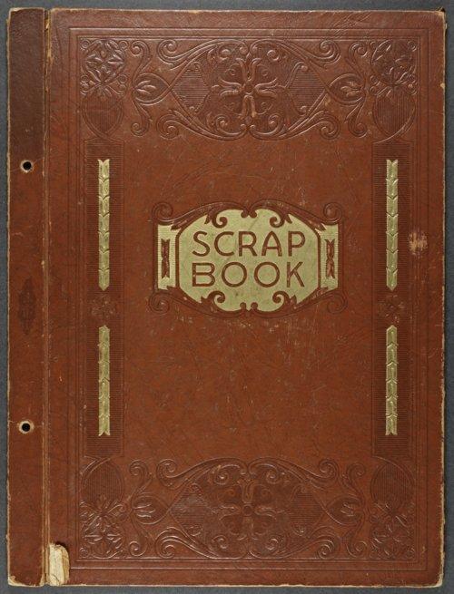 Harland Coffman baseball scrapbook - Page