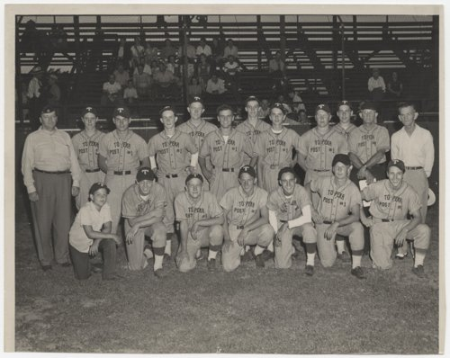 Capitol Post 1 baseball team in Topeka, Kansas - Page