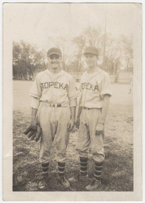 Howard Pool and Woody Bulkley in Topeka, Kansas - Page