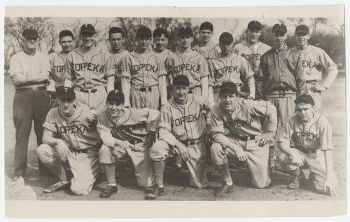Topeka High School baseball team - Page