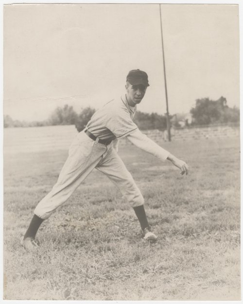 Ed Wilson of the Abilene, Kansas, baseball team - Page