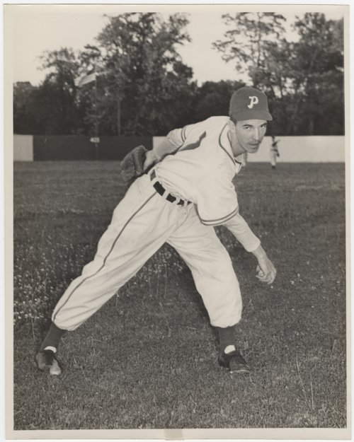 Ed Wilson of the Paris, Illinois, baseball team - Page