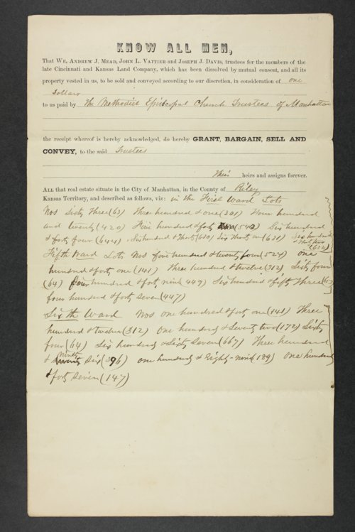 Isaac T. Goodnow property records - Page